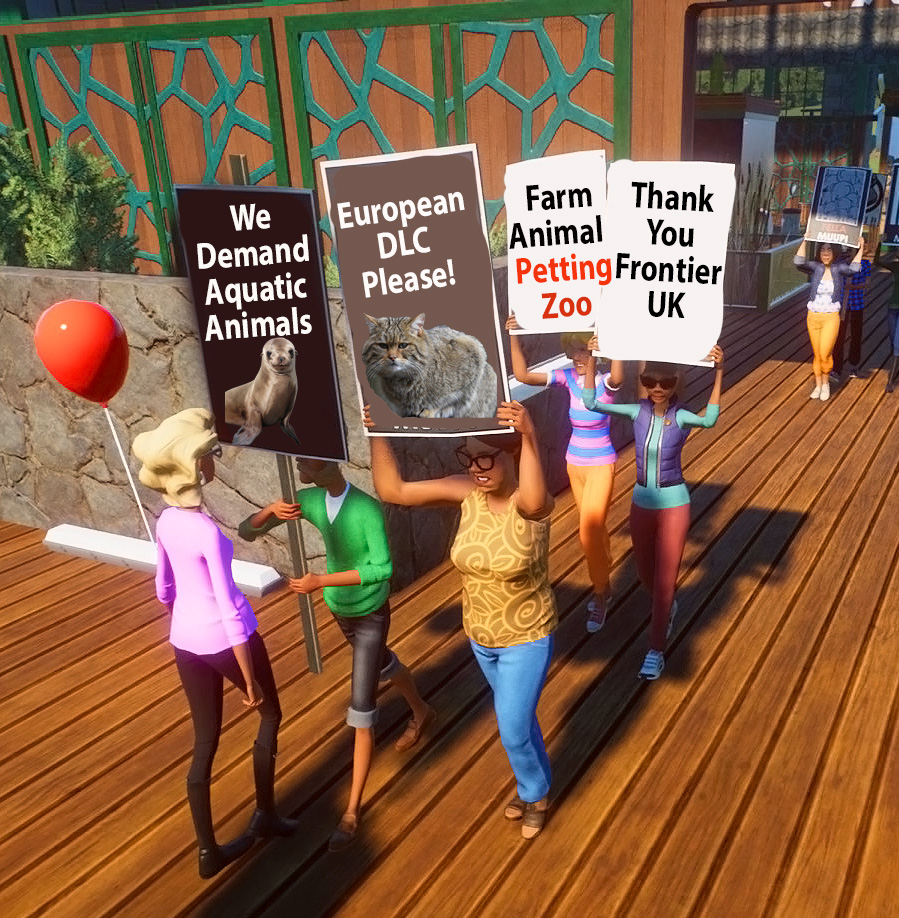 MSQueen2Zoo Planet Zoo Protesters.jpg