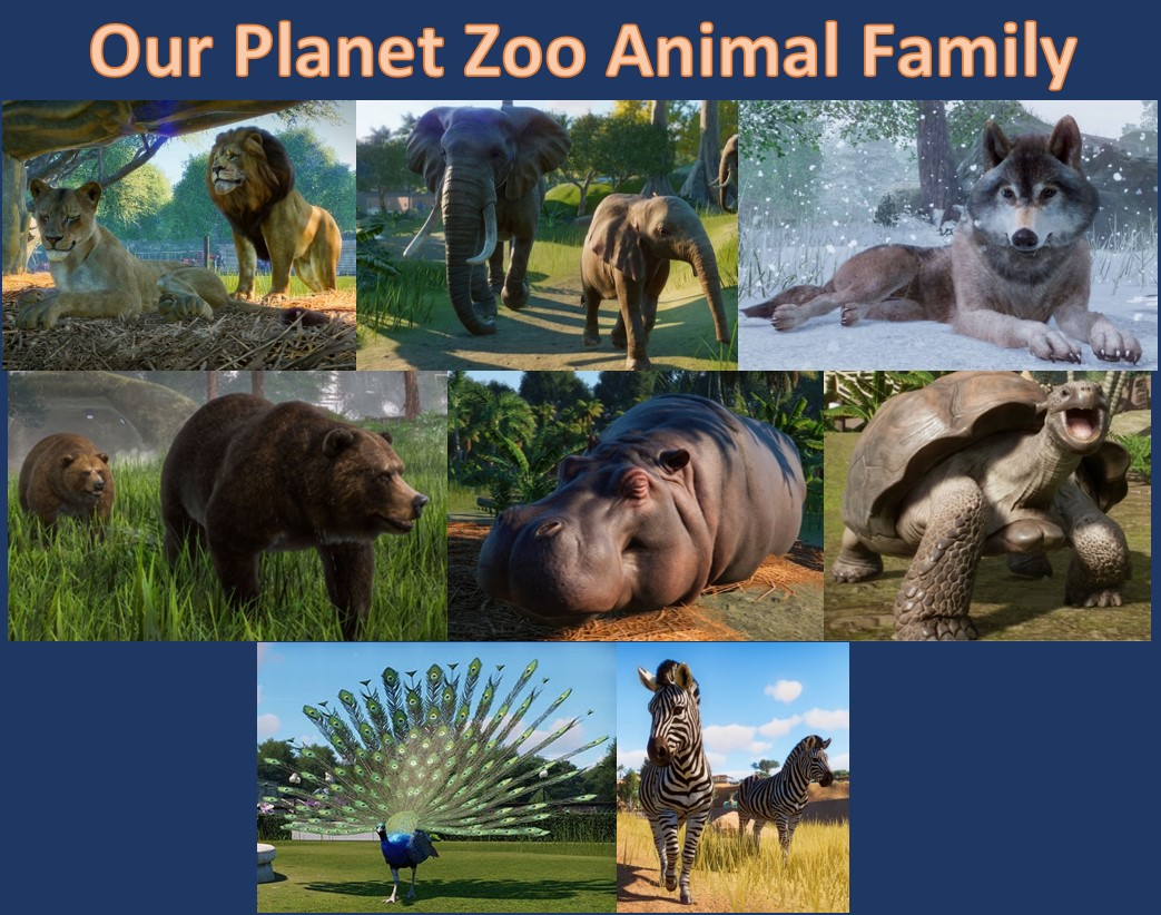 Planet Zoo - Animals and Features | Frontier Forums