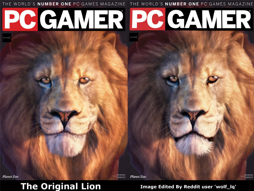 Frontier, please improve your Lion ~ *** check out how this